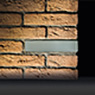 BRICK of LIGHT WALL RECESSED decorative
